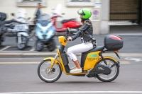 Scooter sharing elettrico a Milano